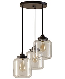 Oslo Brass & Glass Pendants