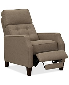 Elora Fabric Pushback Recliner