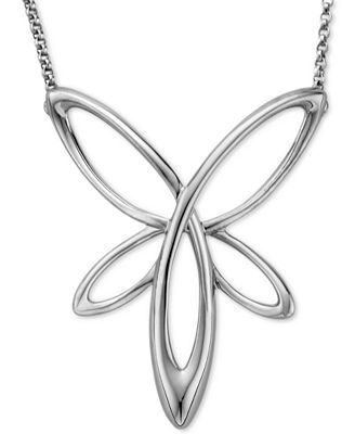 Nambé Star Pendant Necklace in Sterling Silver, Only at Macy's