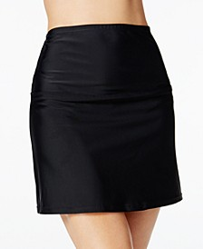 La Palma High-Waist Tummy Control Swim Skirt, Created for Macy's