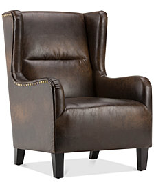 Vereen Wingback Chair, Quick Ship