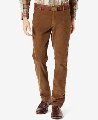 Dockers® Slim Tapered Fit Alpha Khaki Corduroy Pants - Pants - Men ...