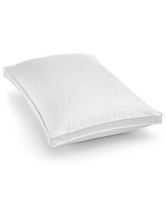 European White Goose Down Medium Standard Pillow, Created for Macy's