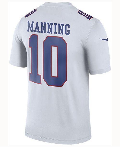 the latest 66655 a2fb0 Nike Men's Eli Manning New York Giants Legend Color Rush ...