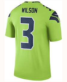 Nike Men's Russell Wilson Seattle Seahawks Legend Color Rush Jersey