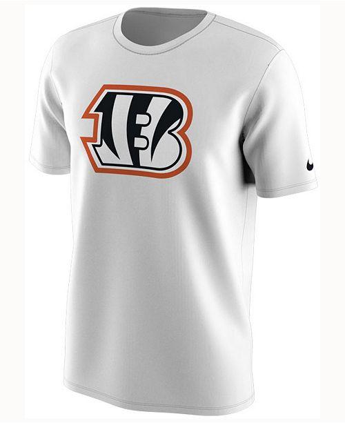 Nike Men s Cincinnati Bengals Color Rush Travel T-Shirt - Sports Fan ... 3ad461eb0