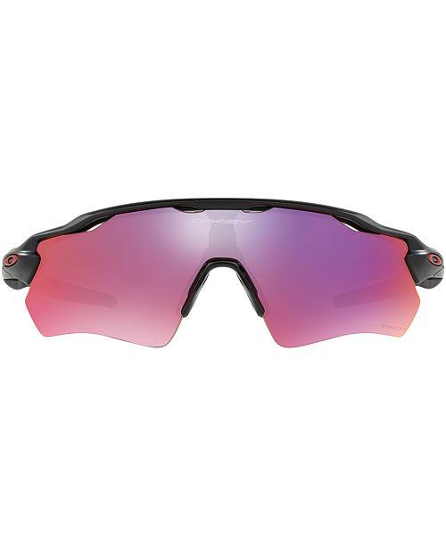 Oakley RADAR EV PATH PRIZM ROAD Sunglasses, OO9208 38 - Sunglasses by  Sunglass Hut - Men - Macy s d3aa6a4941de