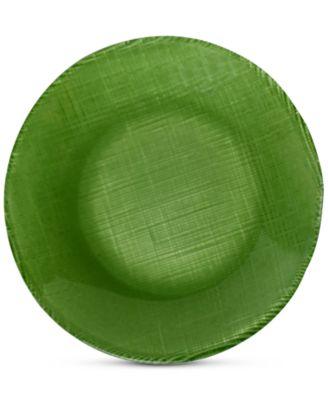 Verona Green Coupe Glass Salad Plate