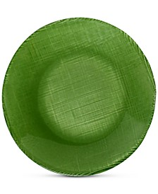 Verona Green Coupe Glass Salad Plate
