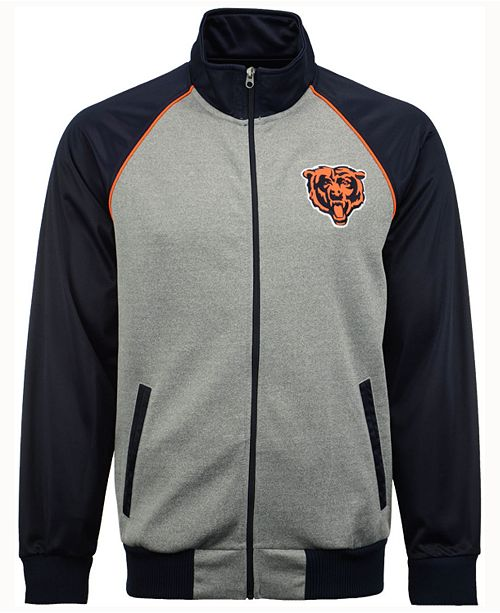 new style 6dccc 91728 G-III Sports Men's Chicago Bears Throwback Track Jacket ...