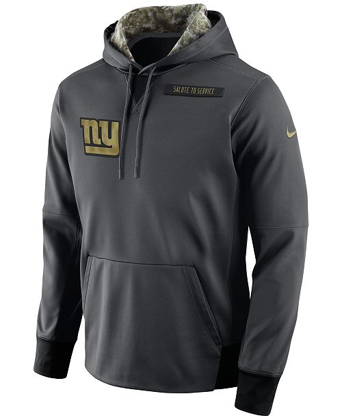 Nike Men s New York Giants Salute to Service Hoodie - Sports Fan ... 71cae91b0