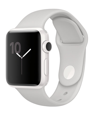 Apple Watch Edition 38mm White Ceramic Case with Cloud Sport Band