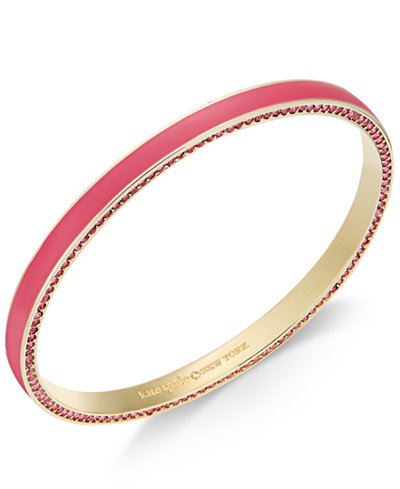kate spade new york Hidden Crystal Bangle Bracelet