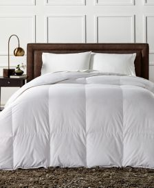 European White Down Heavyweight Full/Queen Comforter, Created for Macy's