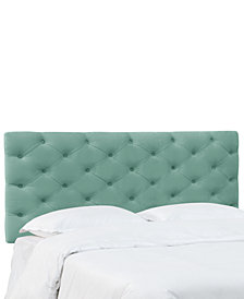 Hyde Park Full Horizontal Tufted Headboard, Quick Ship