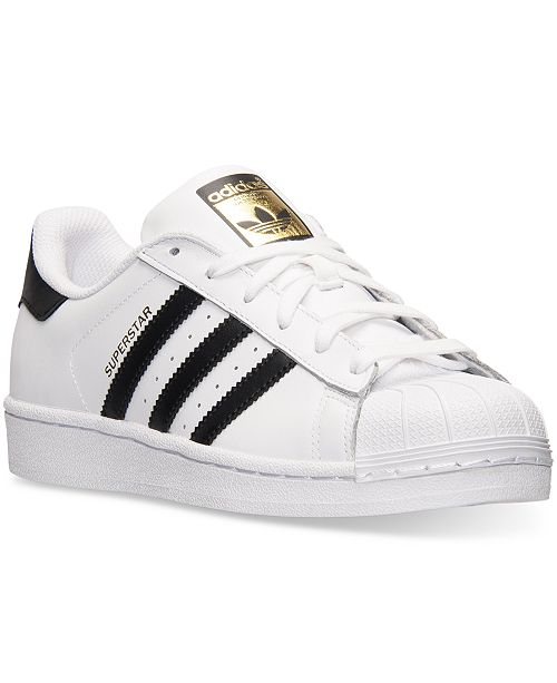los angeles bb1c8 16d79 ... adidas Women s Superstar Casual Sneakers from Finish ...