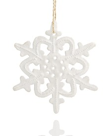 Heart of Haiti Metal Snowflake Ornament