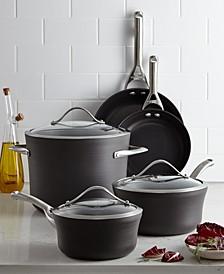 Contemporary Nonstick 8-Pc. Cookware Set