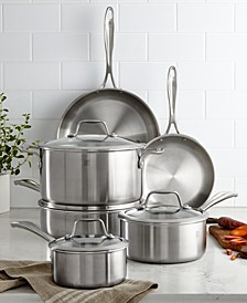 Zwilling Spirit 10-Piece Polished Stainless Steel Cookware Set