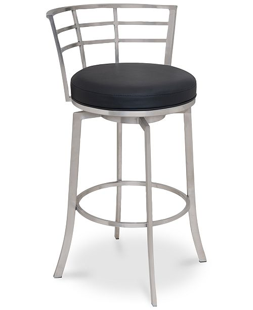 Awesome Armen Living Viper 26 Counter Height Swivel Barstool In Gmtry Best Dining Table And Chair Ideas Images Gmtryco