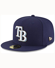 New Era Tampa Bay Rays Classic Leather Out 59FIFTY Cap