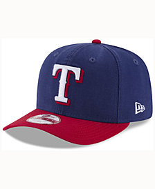 New Era Texas Rangers Vintage Washed 9FIFTY Snapback Cap