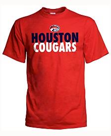 J America Men's Houston Cougars Verb Stack T-Shirt