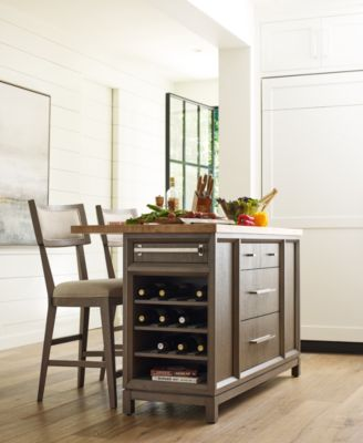 Rachael Ray Highline Kitchen Island Home Collection