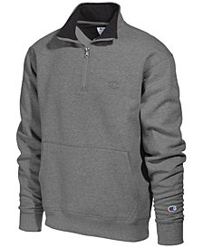 Champion Men's Powerblend® Fleece Quarter-Zip Sweatshirt
