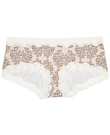 Maternity Lace-Trim Girl Shorts