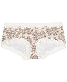 A Pea In The Pod Maternity Lace-Trim Girl Shorts