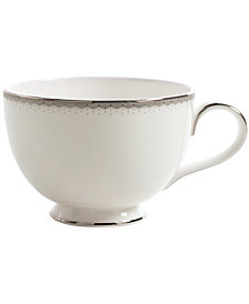 Monique Lhuillier Waterford Dinnerware, Dentelle Teacup