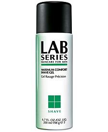 Skincare for Men Maximum Comfort Shave Gel, 6.7 oz.