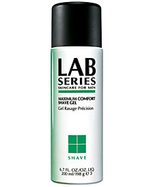 Lab Series Skincare for Men Maximum Comfort Shave Gel, 6.7 oz.