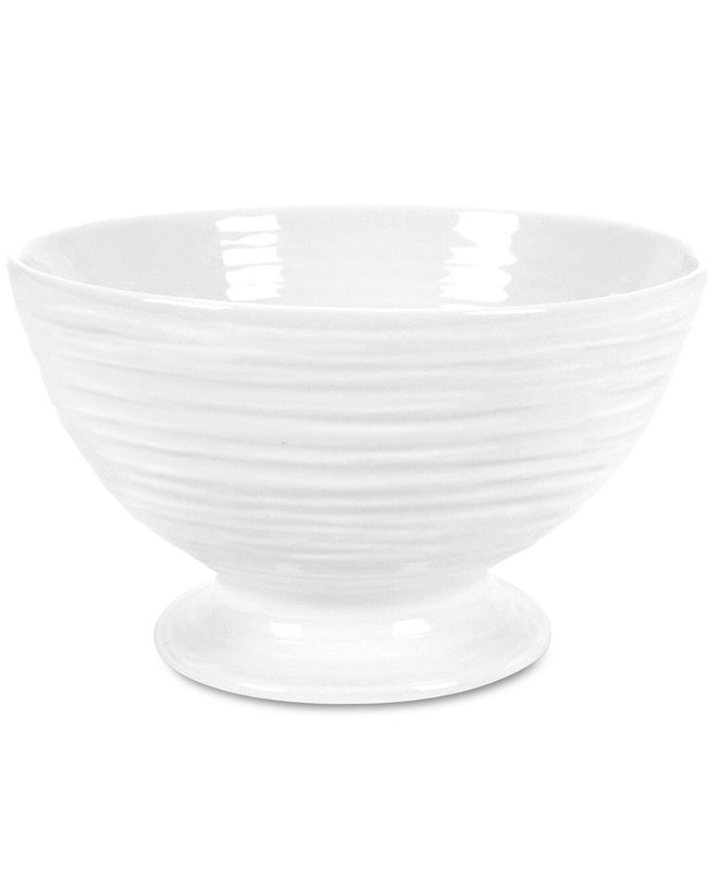 """Portmeirion """"Sophie Conran"""" Footed Bowl, 5.5"""""""