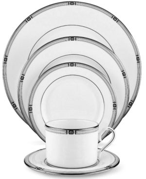 "Lenox ""Westerly Platinum"" 5-Piece Place Setting"