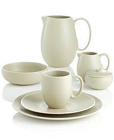 Dinnerware, Naturals Leaf 4 Piece Place Setting