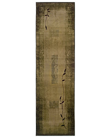 "Oriental Weavers Area Rug, Generations Shadow Vine 544G 2'7"" x 9'1"" Runner Rug"