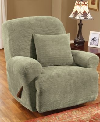 Stretch Royal Diamond Recliner Slipcover