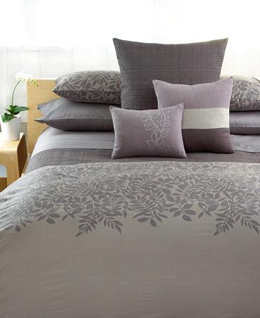 Closeout calvin klein madeira comforter and duvet cover Calvin klein bedding