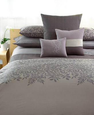 Closeout Calvin Klein Madeira Comforter And Duvet Cover