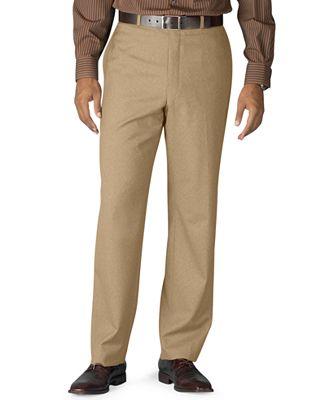 Lauren Ralph Lauren 100% Wool Flat-Front Dress Pants - Pants - Men ...
