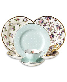 3-Piece Tea & Dessert Sets