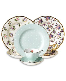 Royal Albert 3-Piece Tea & Dessert Sets