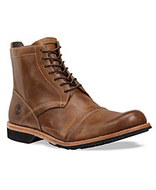 "Timberland Men's 6"" City Side Zip Water Resistant Leather Boots"