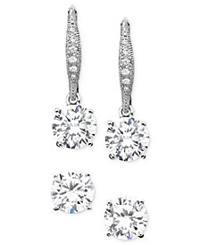 Cubic Zirconia (1-1/4 ct. t.w.) Earring Set, Created for Macy's