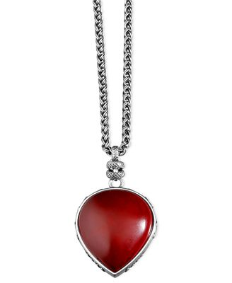 lucky brand necklace red pendant jewelry watches macy 39 s