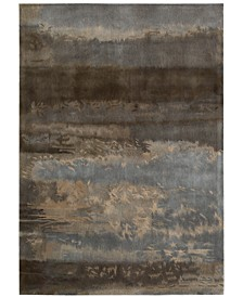 """CK10 Luster Wash SW12 Chrome 5'6"""" x 8' Area Rug"""