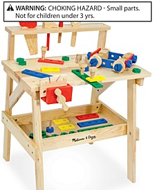 Toys, Wooden Workbench