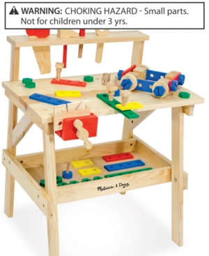 Melissa and Doug Toys Wooden Workbench